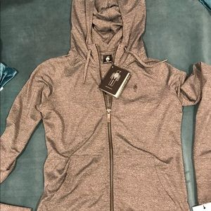 Brand new with tags HPE Yoga/fitness hoodie